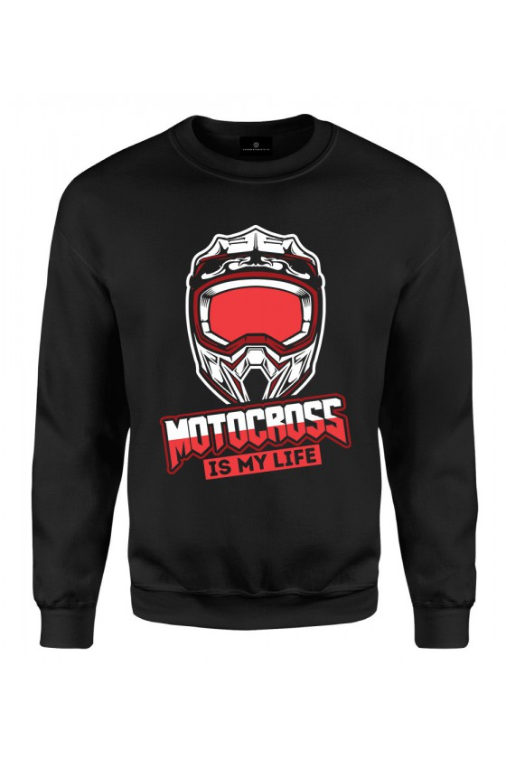 Bluza klasyczna Motocross is my life