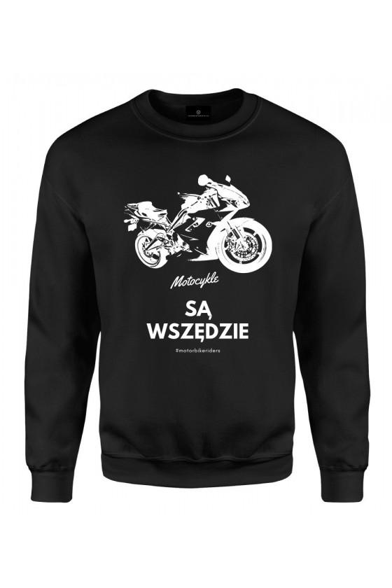 Bluza klasyczna Motocykle są wszędzie