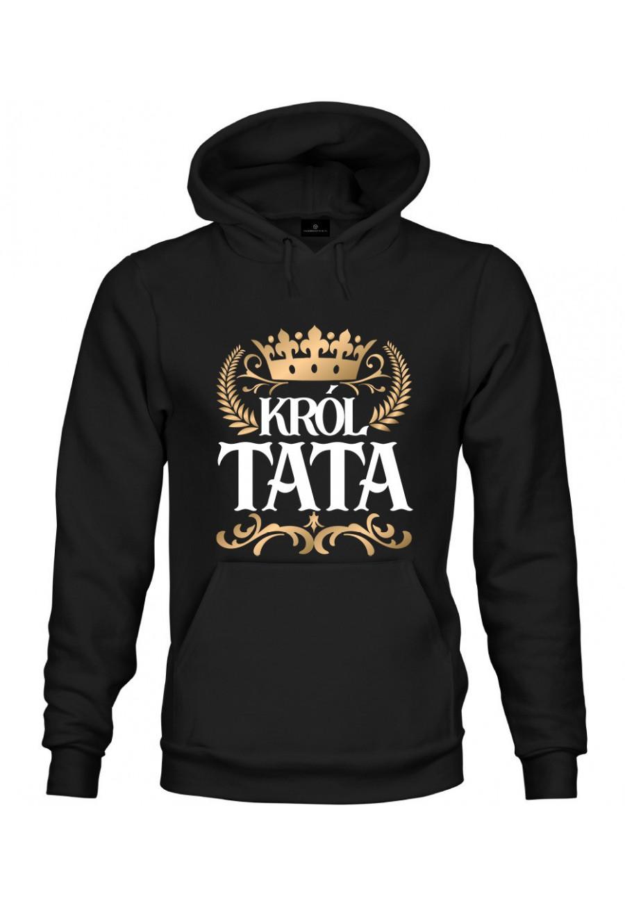 Bluza z kapturem Dla Taty Król Tata