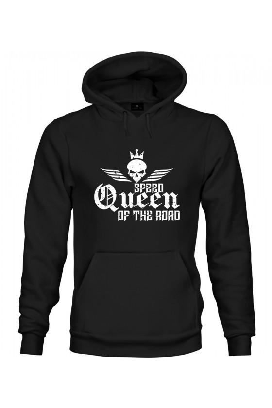 Bluza z kapturem Dla Par z napisem Queen 2