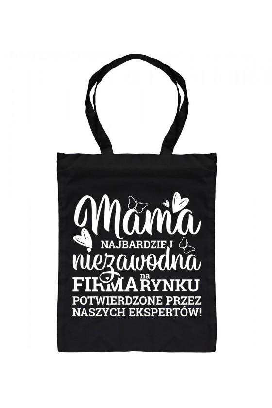 Torba bawełniana Dla Mamy - Mama Najbardziej Niezawodna Firma na Rynku