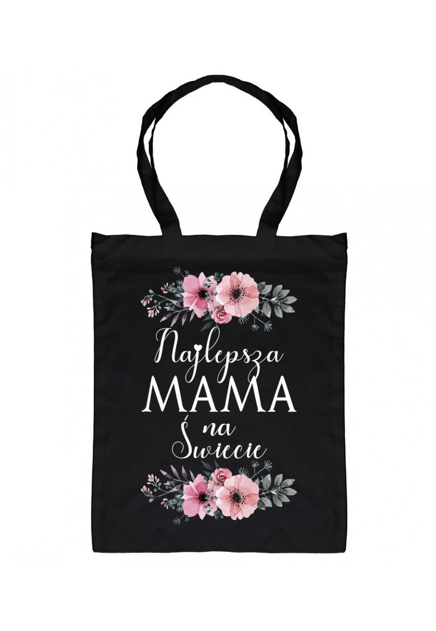Torba bawełniana Najlepsza Mama na Świecie - Kwiaty