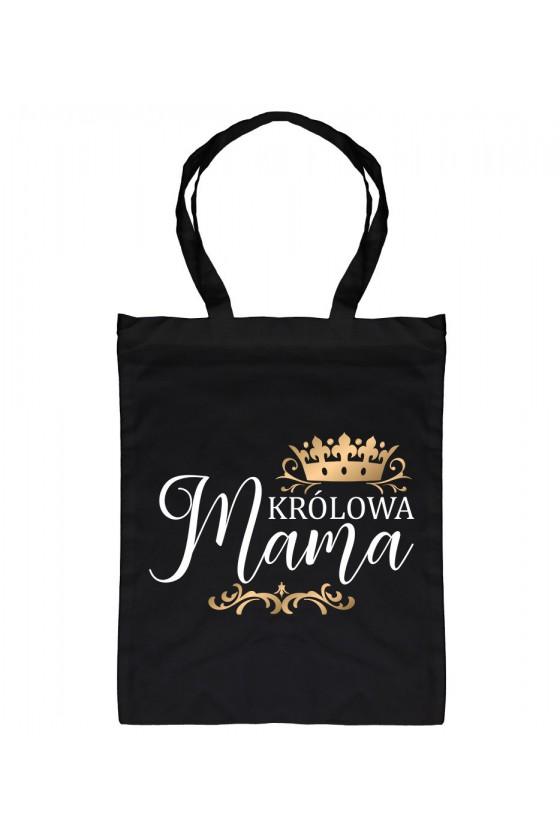Torba bawełniana Z napisem Królowa Mama