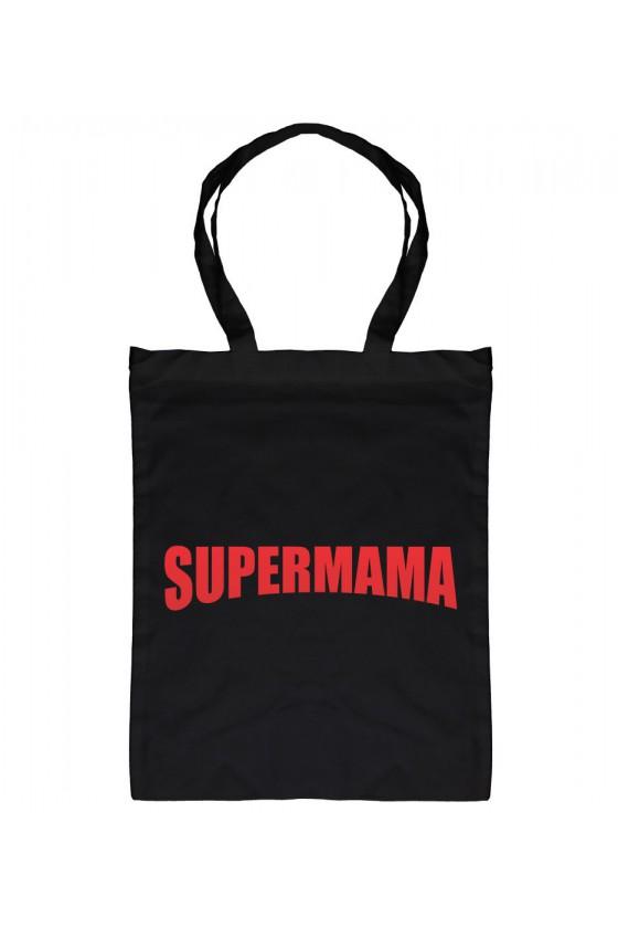 Torba bawełniana Z napisem SuperMama