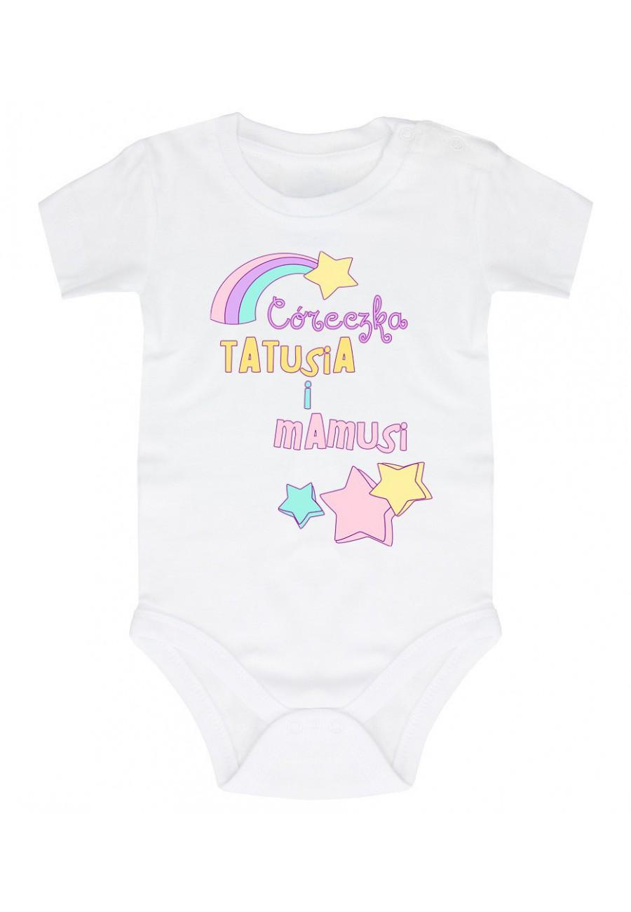 Body niemowlęce Z napisem Córeczka Tatusia i Mamusi