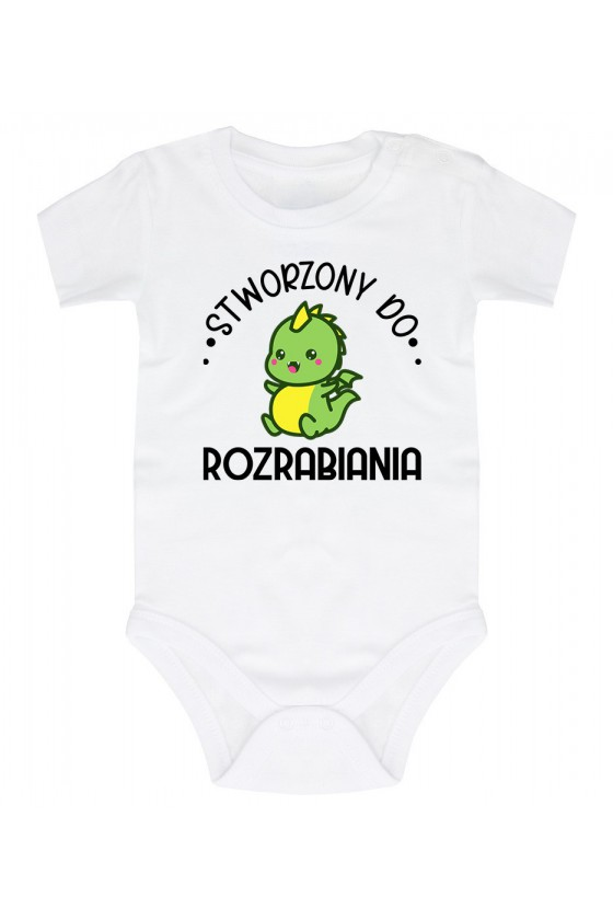 Body niemowlęce Stworzony do rozrabiania