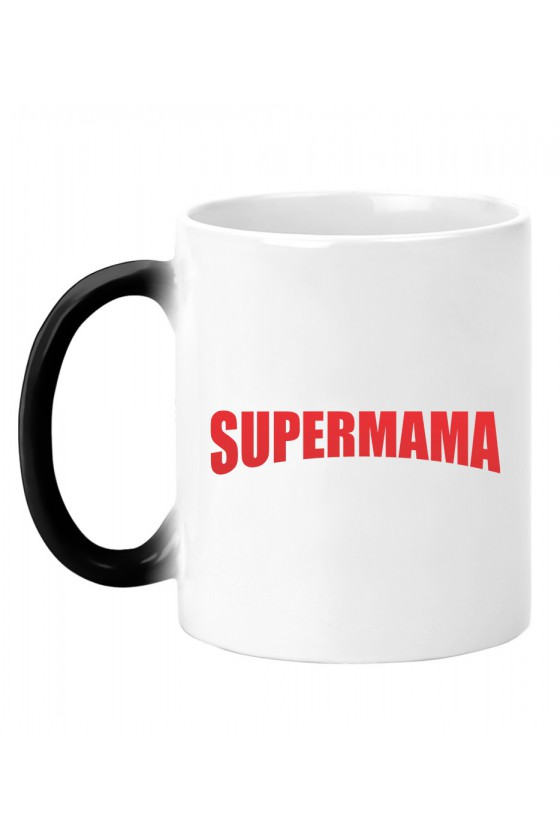 Kubek magiczny Z napisem SuperMama
