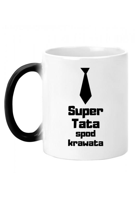 Kubek magiczny Z napisem Super Tata spod krawata