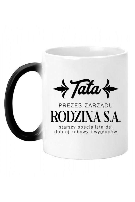 Kubek magiczny TATA - PREZES ZARZĄDU RODZINA S.A.