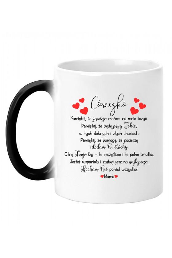 Kubek magiczny Z wyznaniem Od RODZICÓW dla ukochanej córeczki
