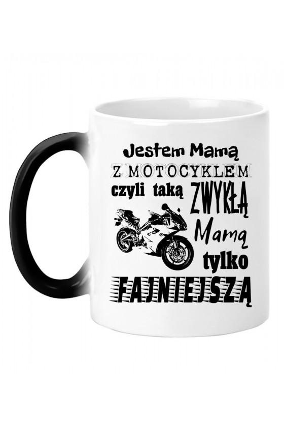 Kubek magiczny Jestem Mamą z Motocyklem