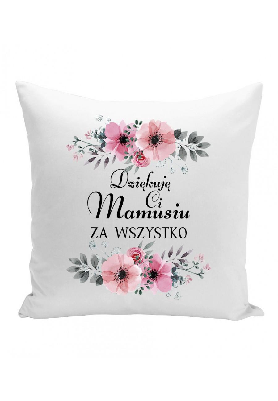 Poduszka Dla Mamy Dziękuję Ci Mamusiu za wszystko