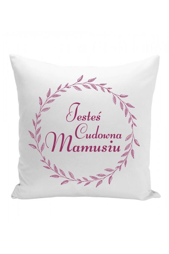 Poduszka Dla Mamy Jesteś Cudowna Mamusiu (fioletowe)