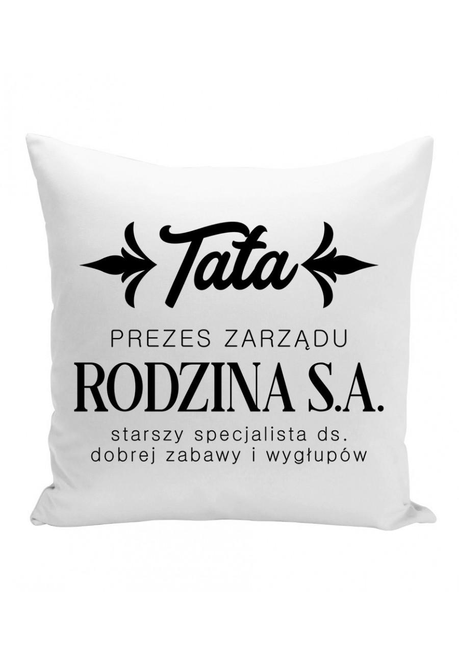 Poduszka TATA - PREZES ZARZĄDU RODZINA S.A.
