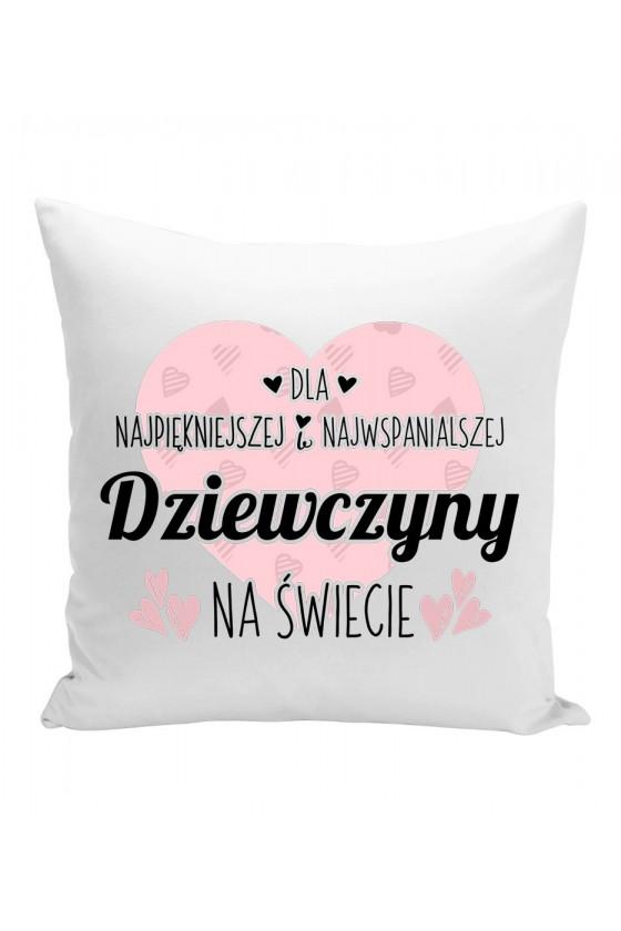 Poduszka Z nadrukiem na prezent dla twojej dziewczyny