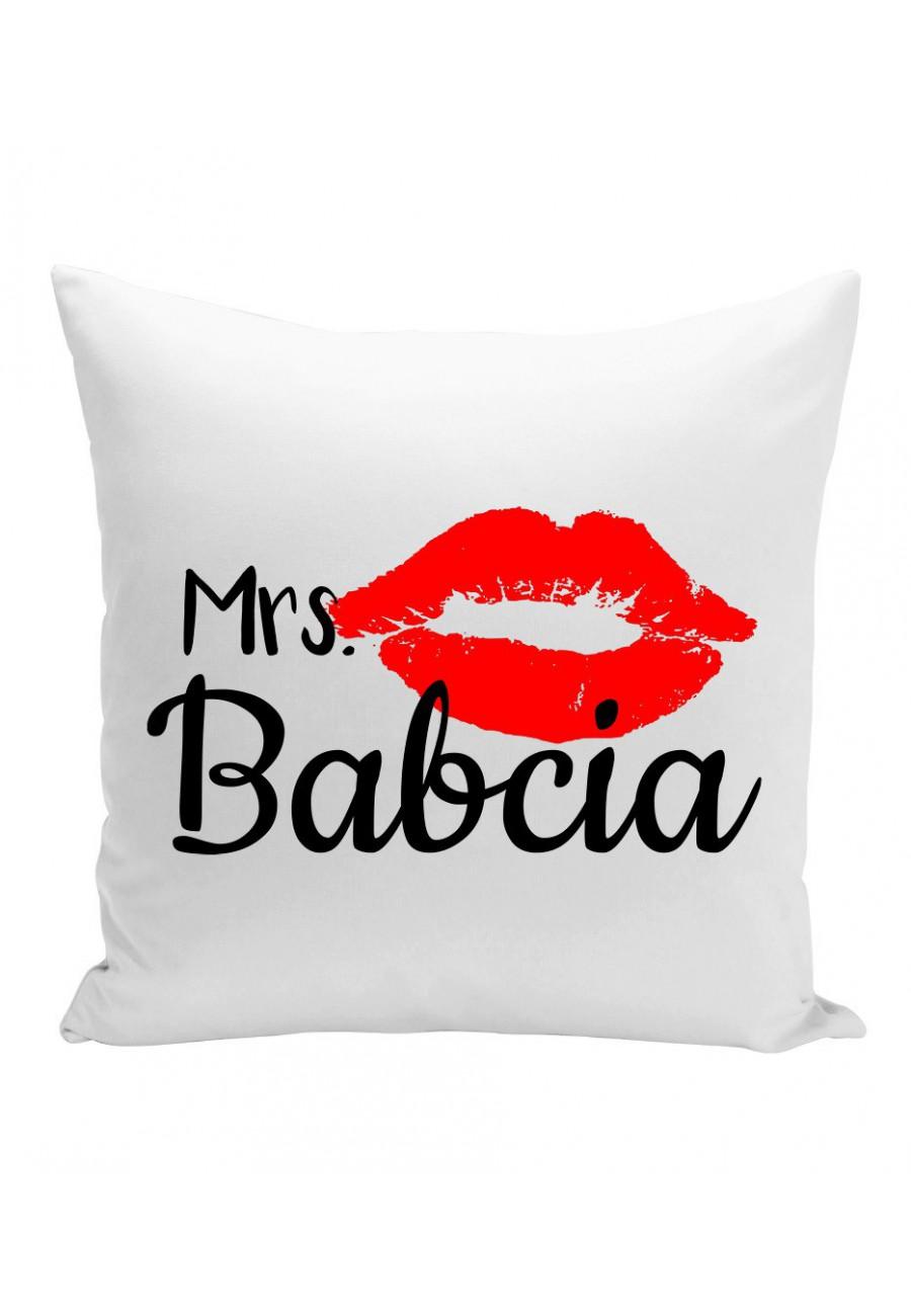 Poduszka Z napisem dla Babci Mrs Babcia