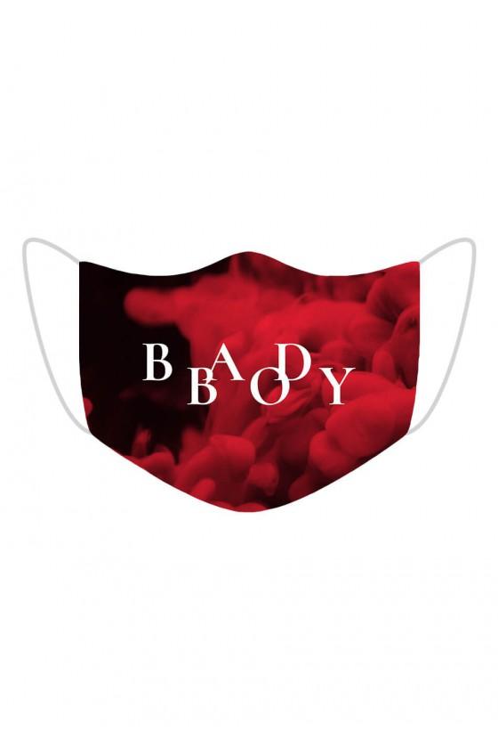 Maseczka Bad Boy Red Smoke