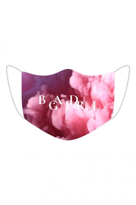 Maseczka Bad Girl Pink Smoke