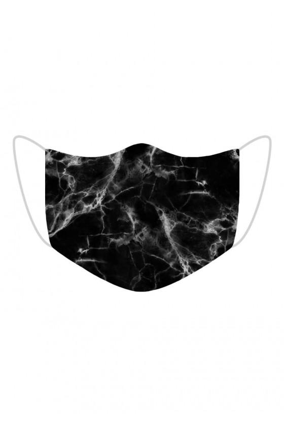 Maseczka Black Marble