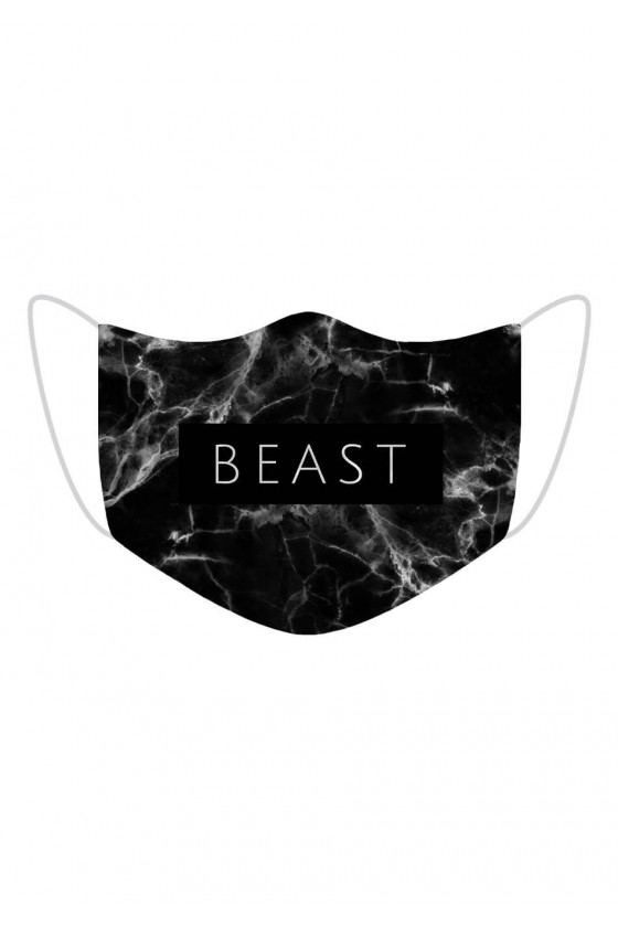 Maseczka Beast Black Marble