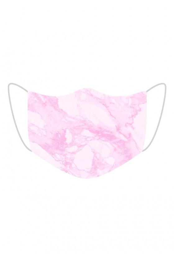 Maseczka Pink Marble