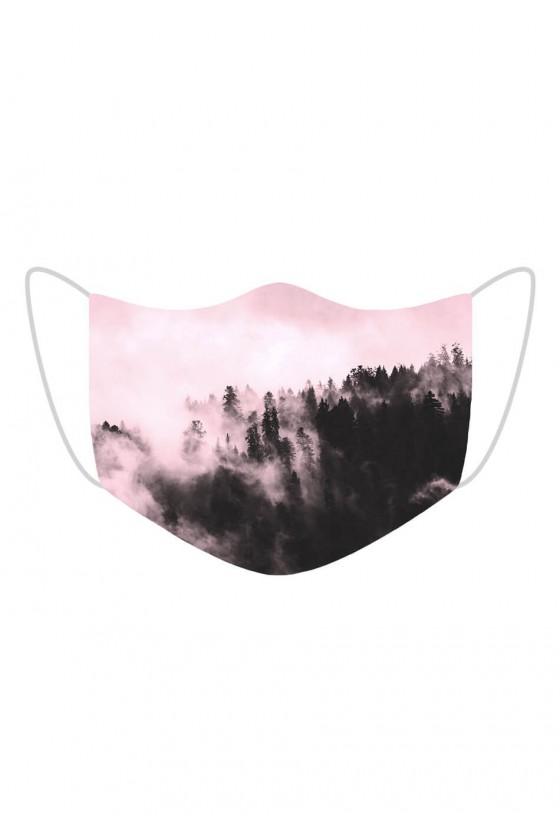 Maseczka Pink Forest