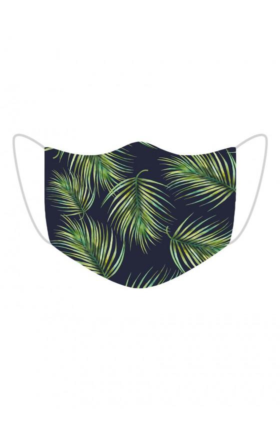 Maseczka Tropikalne Liście