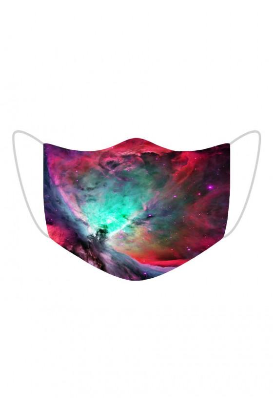Maseczka Colorful Galaxy
