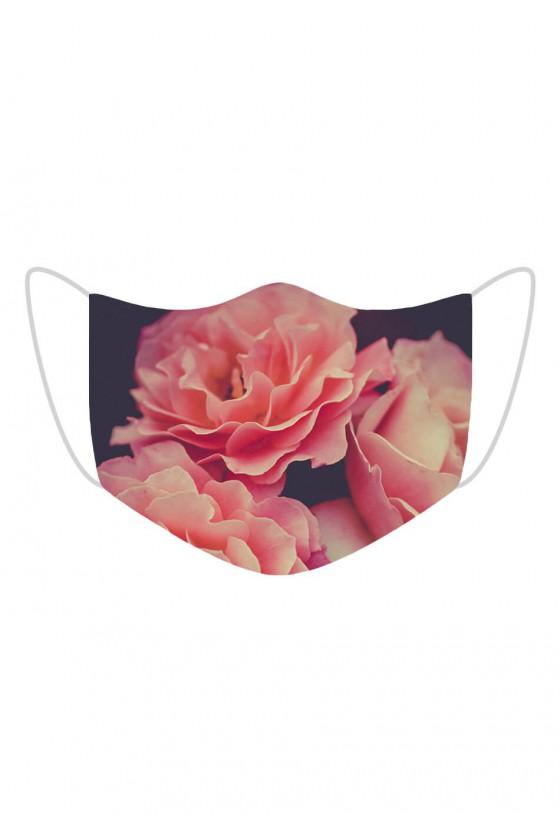 Maseczka Pink Roses