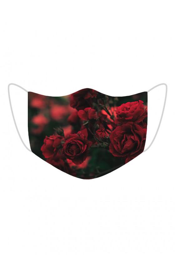Maseczka Beautiful Red Roses