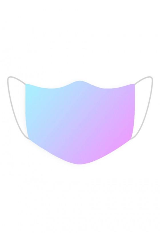 Maseczka Niebiesko-fioletowa