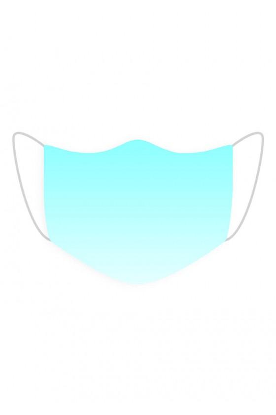 Maseczka Blue Ombre