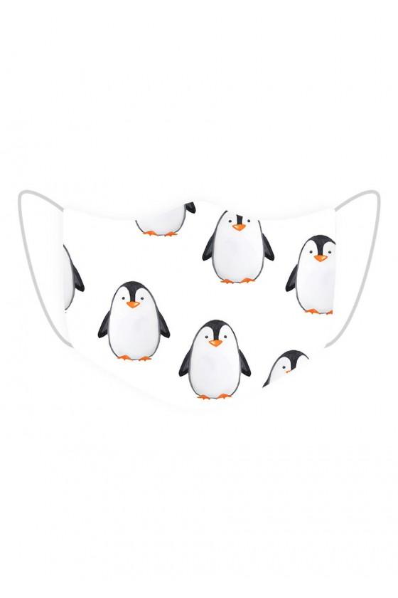 Maseczka Pingwiny