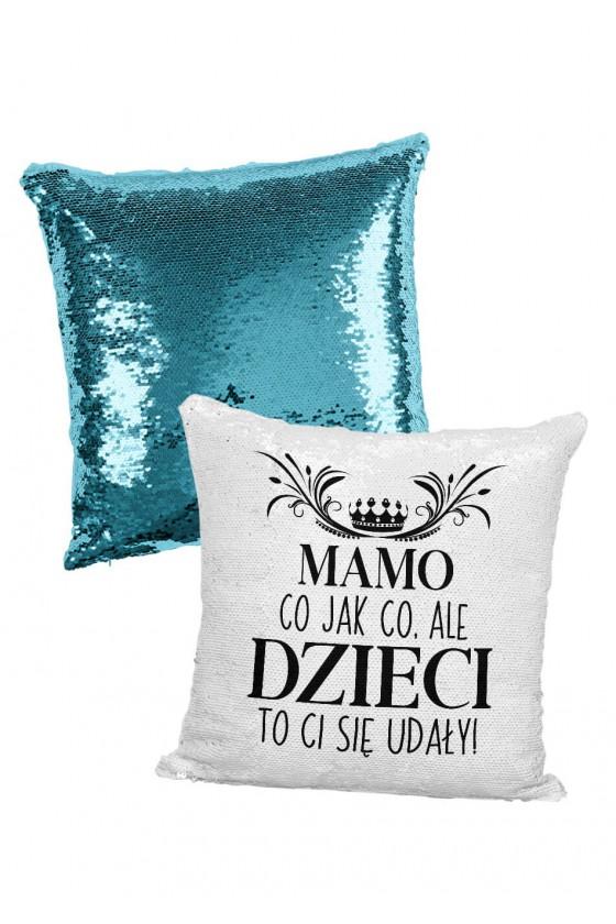 Poduszka cekinowa Mamo...