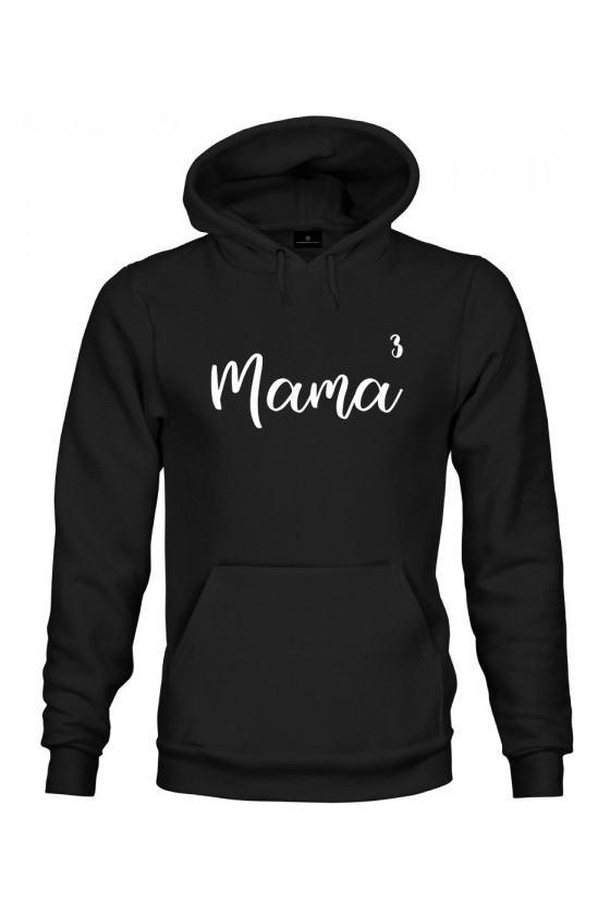 Bluza z kapturem Mama do potęgi 3