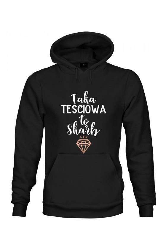 Bluza z kapturem Taka Teściowa to skarb