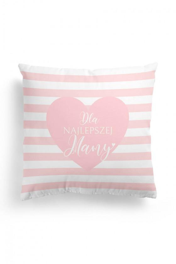 Poduszka Premium Dla Najlepszej Mamy Różowe Serce