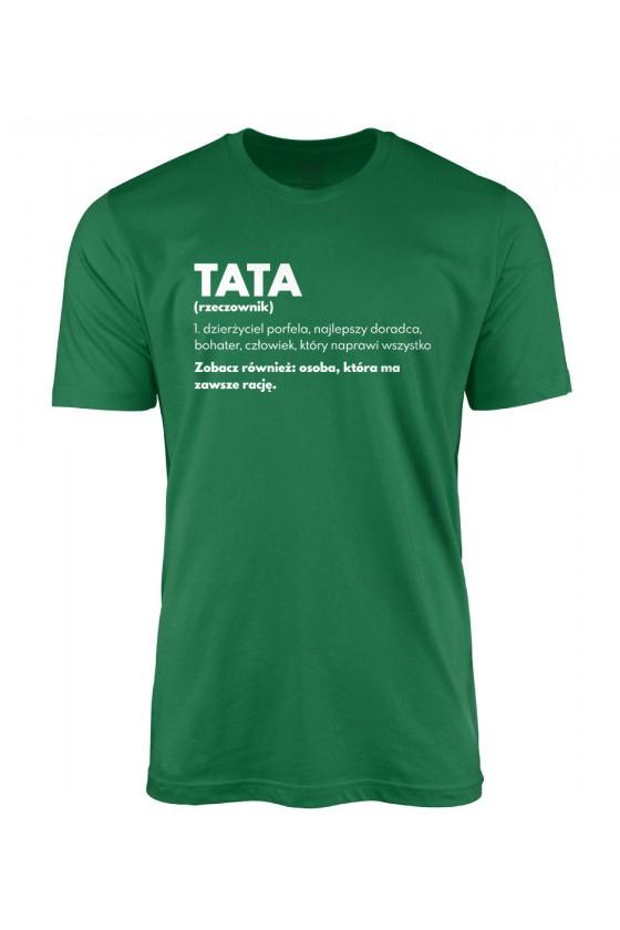 Koszulka męska Definicja taty