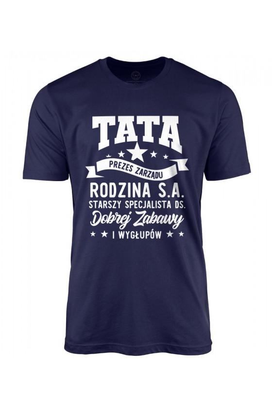 Koszulka męska Tata Prezes Zarządu Rodzina S.A. LIMITED