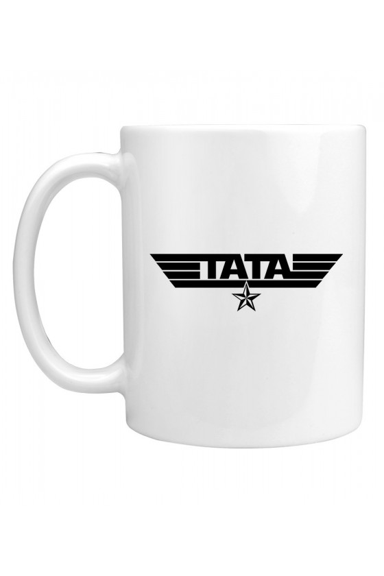 Kubek z napisem Tata - wojskowy styl