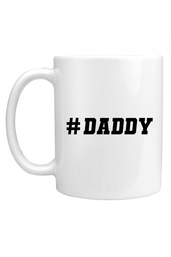 Kubek z modnym napisem Daddy