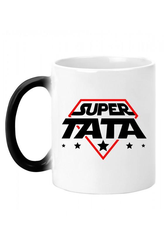 Kubek magiczny Super Tata - kosmiczny styl