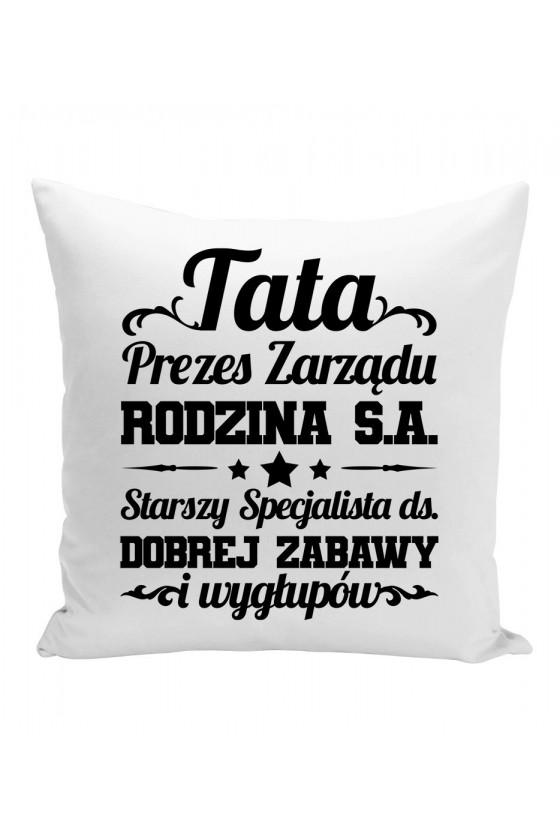 Poduszka Tata Prezes Zarządu Rodzina S.A.
