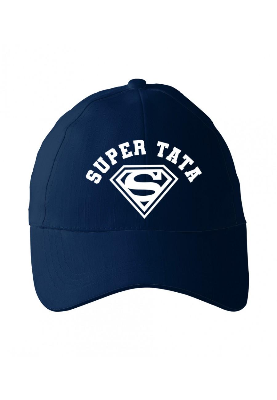 Czapka z daszkiem dla Taty Super Tata - nowa wersja