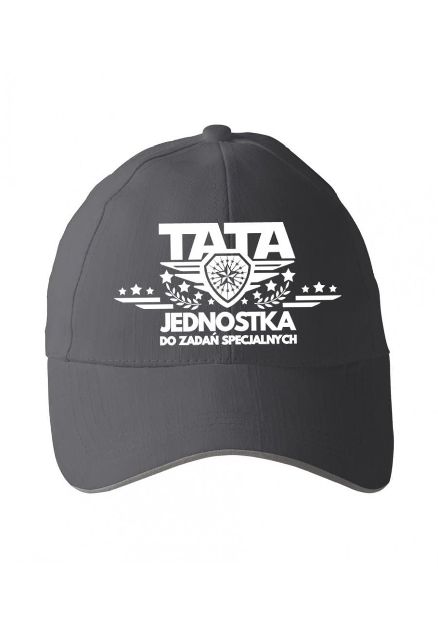 Czapka z daszkiem dla Taty Tata jednostka do zadań specjalnych - nowa wersja