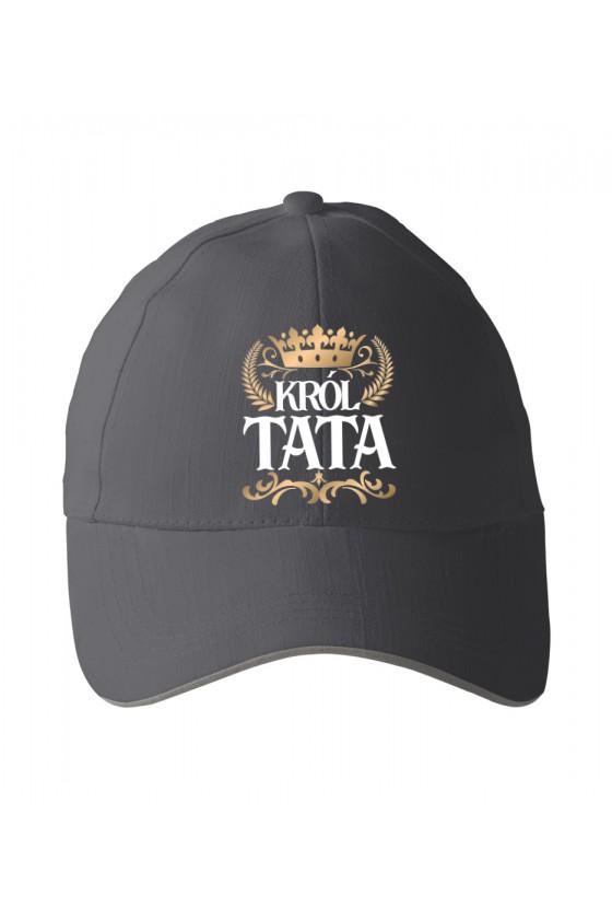 Czapka z daszkiem dla Taty Król Tata