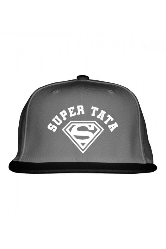 Czapka Snapback dla Taty Super Tata - nowa wersja