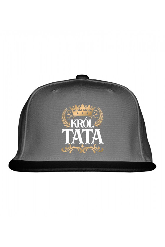 Czapka Snapback dla Taty Król Tata
