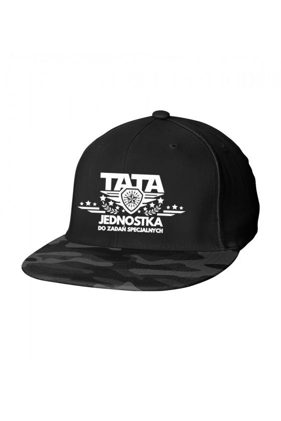 Czapka Camo Snapback dla Taty Tata jednostka do zadań specjalnych - nowa wersja