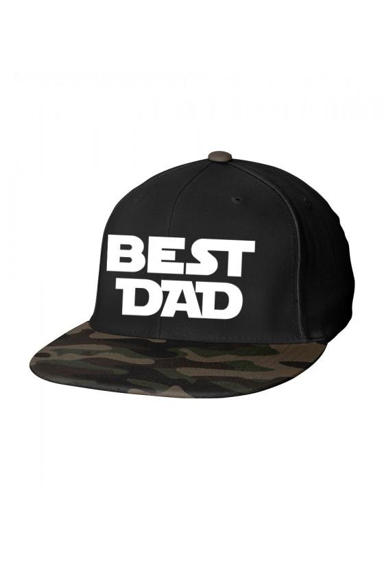 Czapka Camo Snapback dla Taty Best Dad